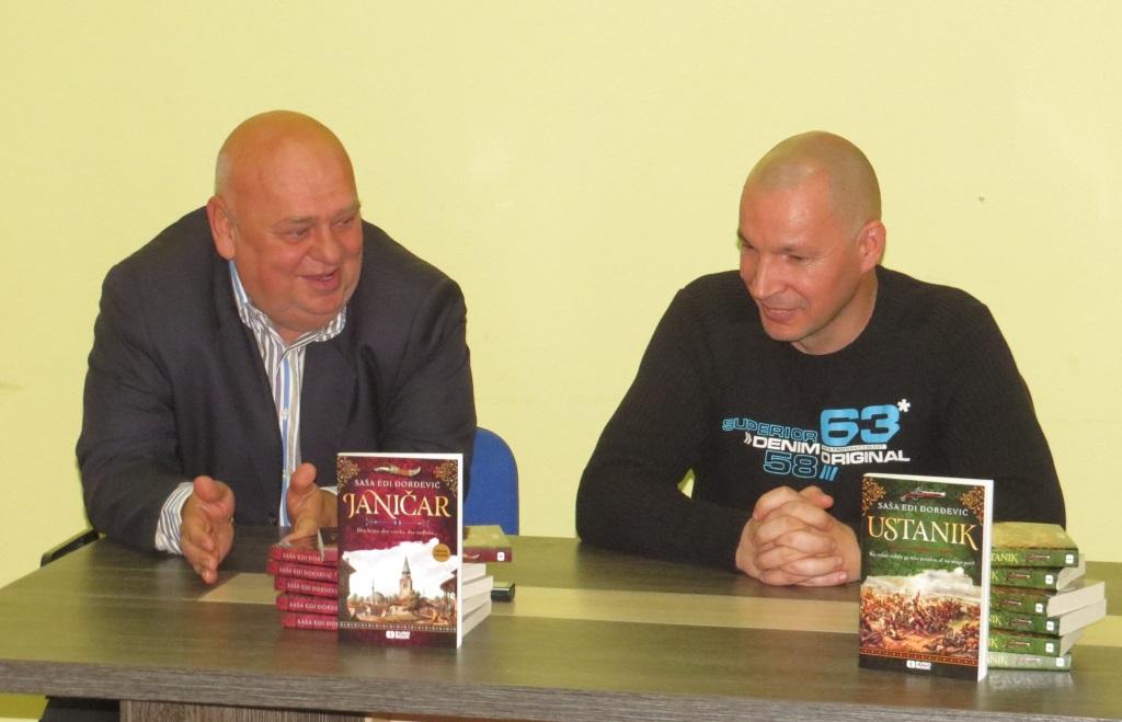 Romani Janičar i Ustanik predstavljeni u biblioteci Stojan Trumić Titel
