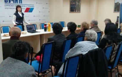 Udruženje dijabetičara Titel i Unija žena SNS organizovali tribinu o dijabetesu