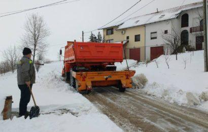 Februarski sneg nije iznenadio zimske službe