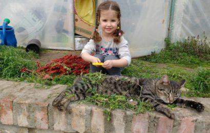 Dunja i njen mačak Toša
