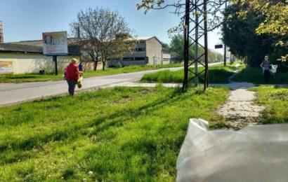 Očišćena Glavna ulica za Dan planete