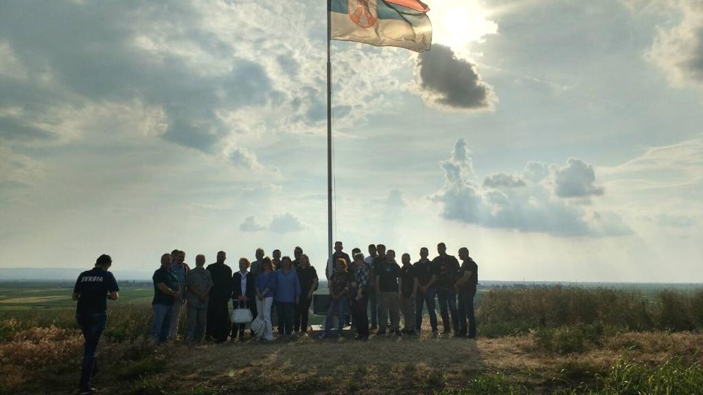 osvecenje spomen ploce poginulim vojnicima 1849 godine mosorin 2018