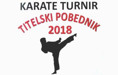 Titel domaćin internacionalnog karate turnira