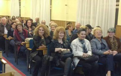 Dr Nele Karajlić gostovao u NB Stojan Trumić Titel