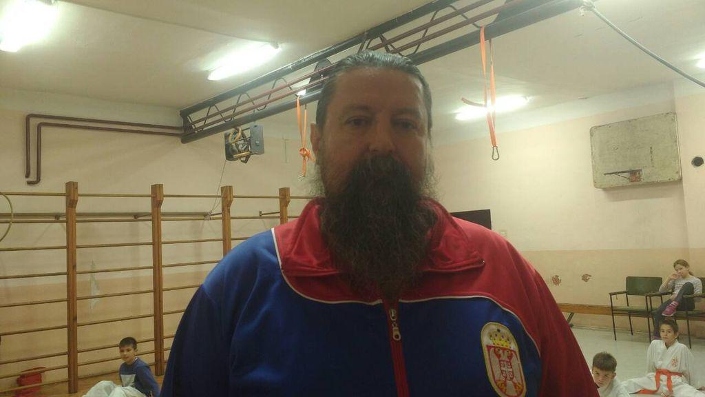 zoran bursac trener karate klub crni pojas titel