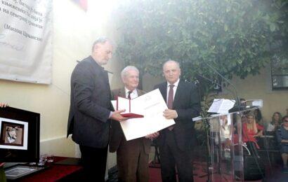 Lazar Čurčić dobitnik Zlatne knjige BMS