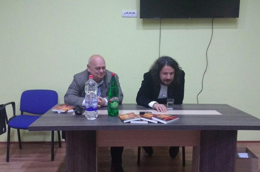 Muharem Bazdulj predstavio roman Kvadratni koren iz života u NB Stojan Trumić Titel