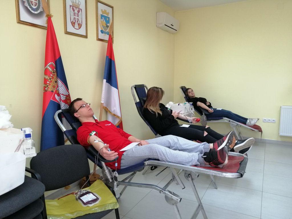 dobrovoljni davaoci krvi titel maj 2019