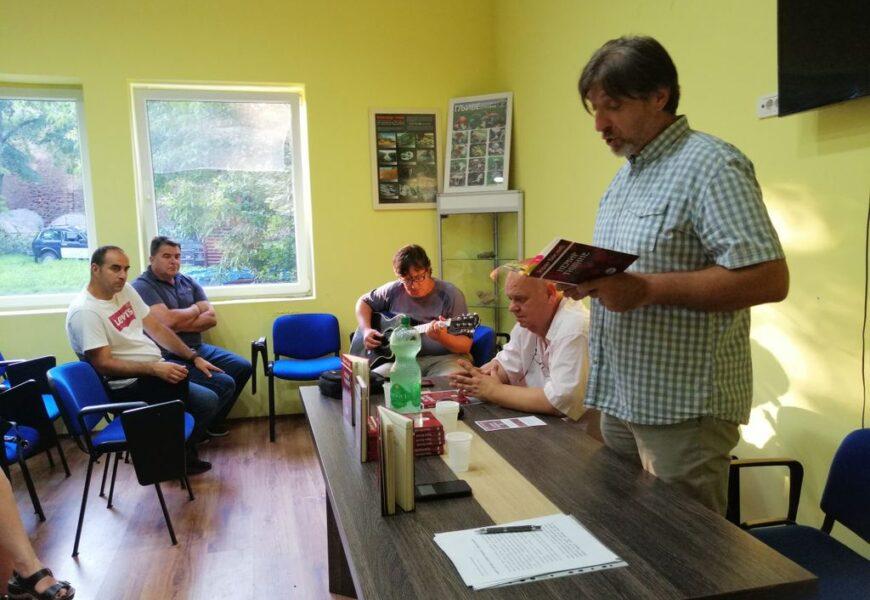 Zoran Bosnić predstavio knjigu Nemir tišine i u Titelu