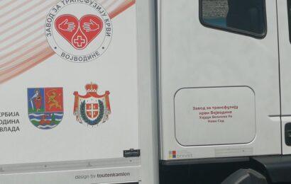 Akcije dobrovoljnog davanja krvi u Titelu, Mošorinu i Šajkašu