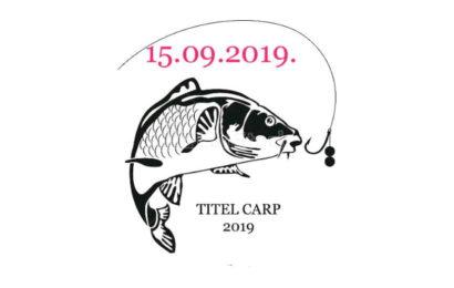 Titel CARP – 2019 takmičenje u ribolovu šarana