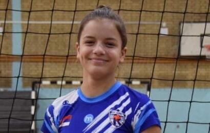 Milana Borenović, najbolja sportistkinja u kategoriji školski sport